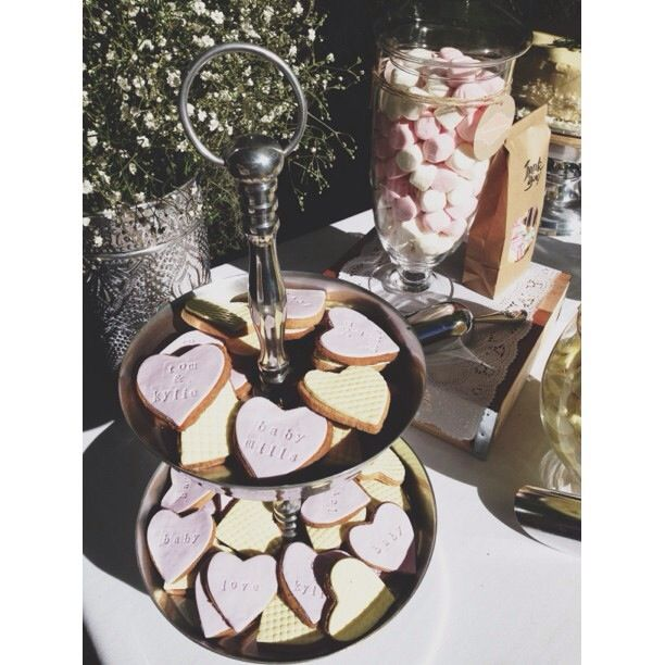 Baby Shower - Lolly Buffet.  Delicious Cookies as an extra.