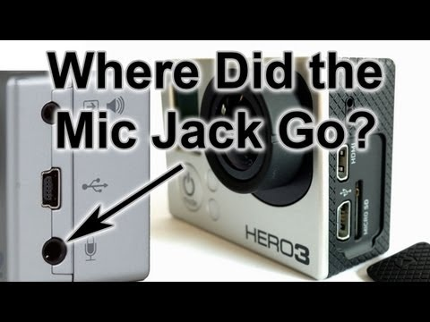 Where is the Microphone Jack? GoPro Tips and Tricks