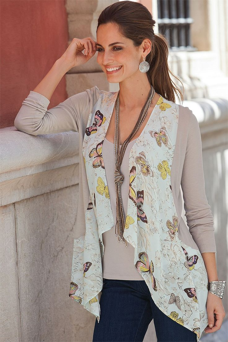 Tops - Together Print Front Cover Up Two-in-One - BIG W