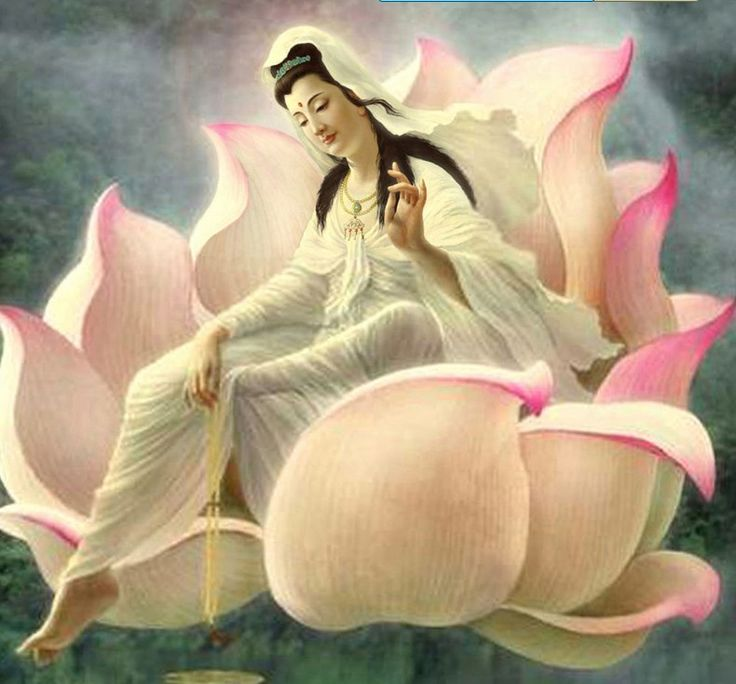 """Quan Yin"", Goddess of compassion."