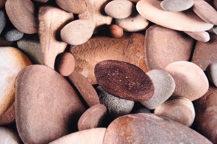 Interieurstof katoen stenen natuurtinten