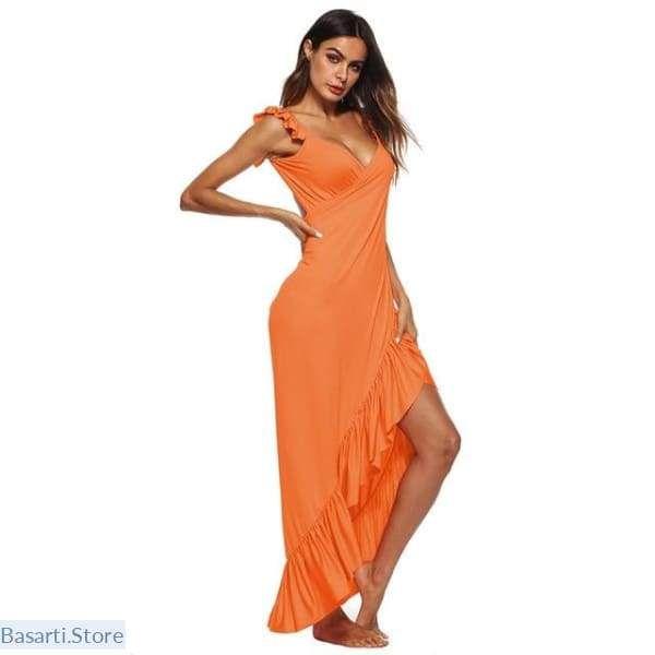 """Maxi Dress – Sarong Wrap, 10% Off: Use Code """"10 OFF"""" at Checkout"""