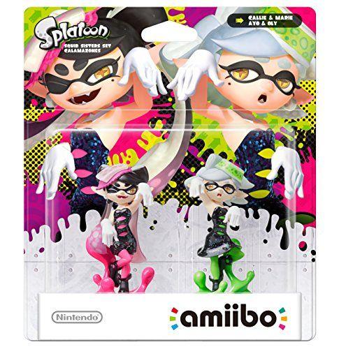 From 34.99 Splatoon Squid Sisters Amiibo Double Pack (nintendo Wii U/nintendo 3ds)