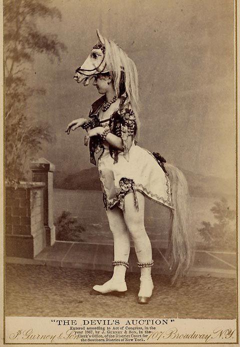 señorita aficionada al mundo equestre