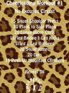 #cheer #workout
