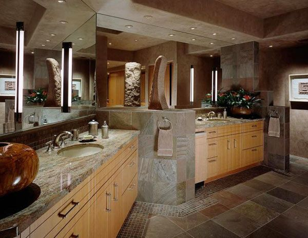 Slate Tiles Is Used For House Wall, And Kitchen Wall, And For Floor Also