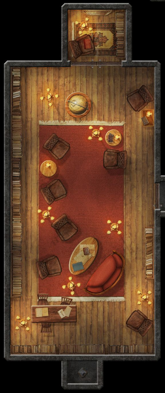 Hero's Challenge Library Puzzle by hero339