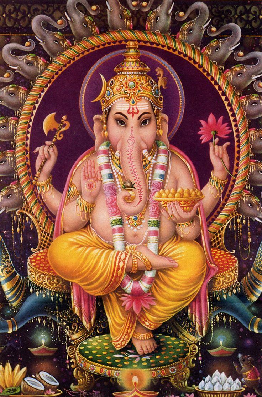 Ganesha é o som primordial, OM, do qual todos os hinos nasceram. Quando Shakti (Energia) e Shiva (Matéria) se encontram, ambos o Som (Ganesha) e a Luz (Skanda) nascem. Ele representa o perfeito equilíbrio entre força e bondade, poder e beleza. Ele também simboliza as capacidades discriminativas que provê a habilidade de perceber a distinção entre verdade e ilusão, o real e o irreal.