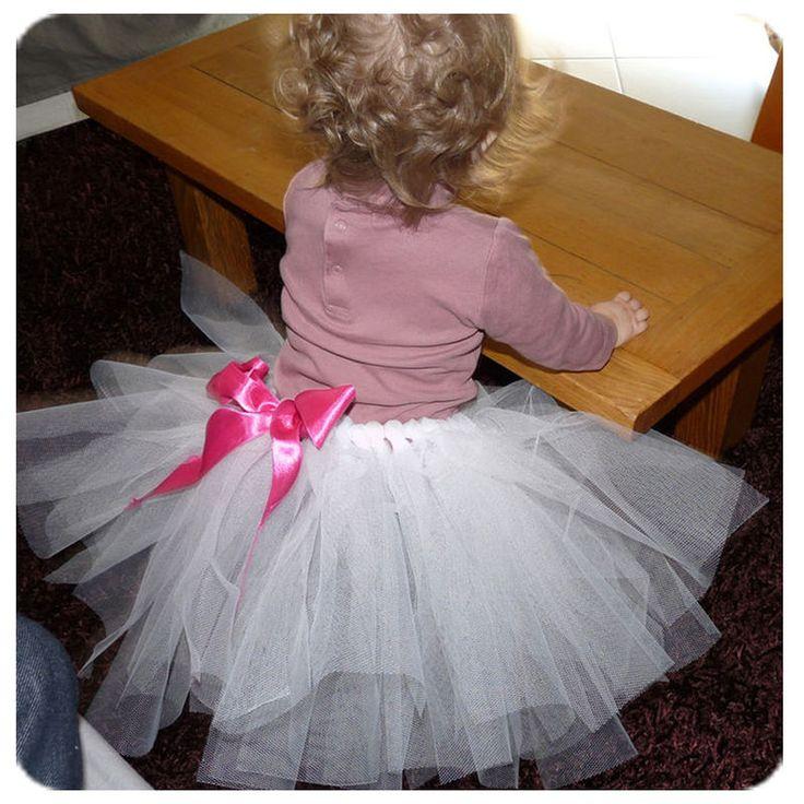 Comment faire un tutu pour nos petites princesses. Tuto simplissime