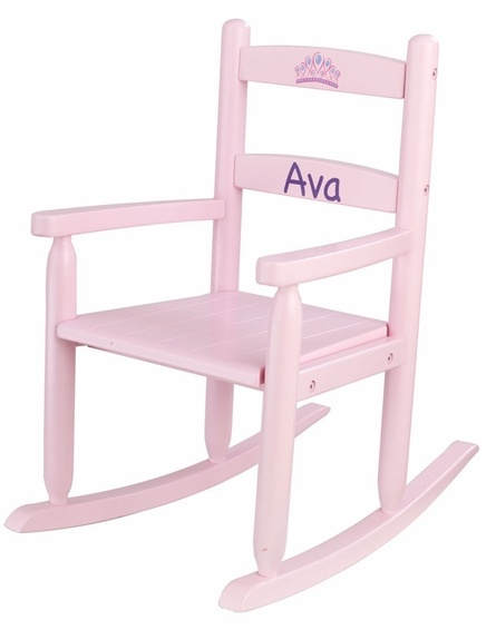 Personalized 2 Slat Rocking Chair   Pink57 best chair designs images on Pinterest   Chair design  Rocking  . Kidkraft Rocking Chair Cherry. Home Design Ideas