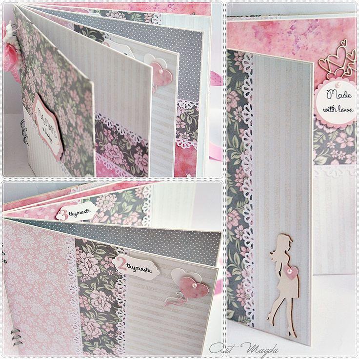ArtMagda handmade | albumy ręcznie robione : Album ciążowy / Pregnancy Diary