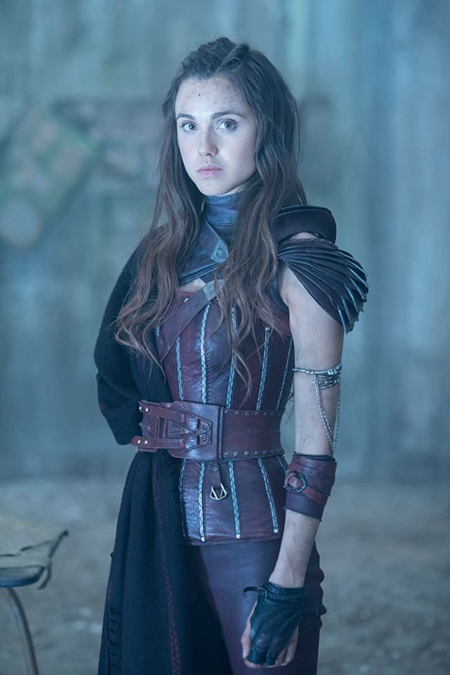 Poppy Drayton as (Amberle Elessedil) #TheShannaraChronicles  I also want to cosplay her