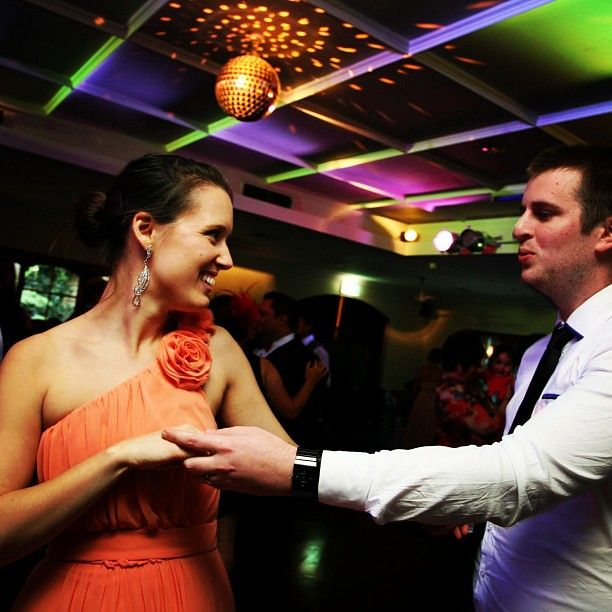 You should be dancing! (Like these two lovely people) :: Photo by Nathania Springs Receptions :: Dandenong Ranges, Victoria, Australia