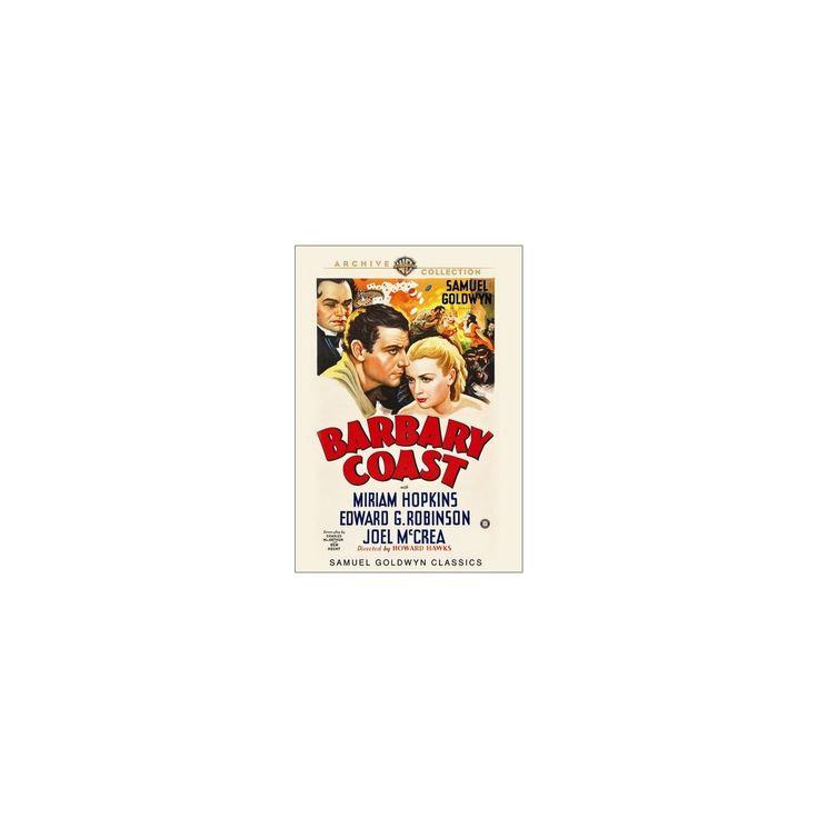 Barbary coast (Dvd), Movies