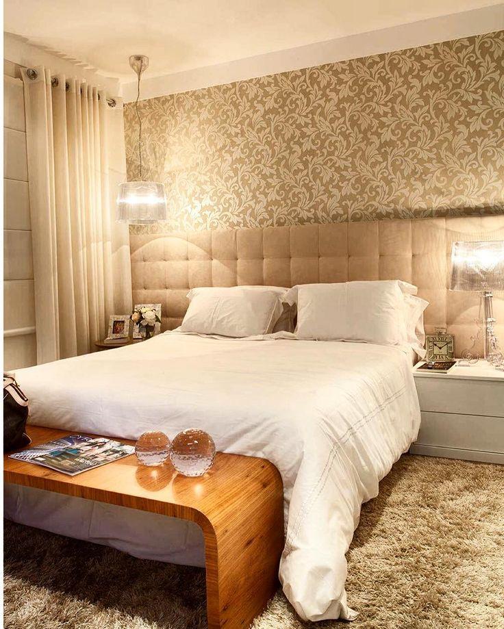 Depois do dia intenso de trabalho de hoje eu mereço uma boa noite de descanso. Imagina só os sonhos num quarto lindo como este!!!