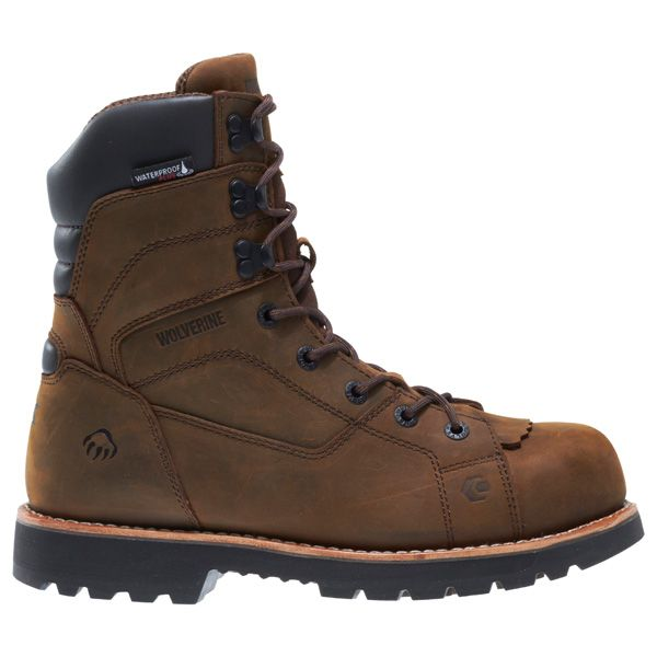 Wolverine Blacktail 8 Inch Waterproof Composite Toe Work Boot W20467