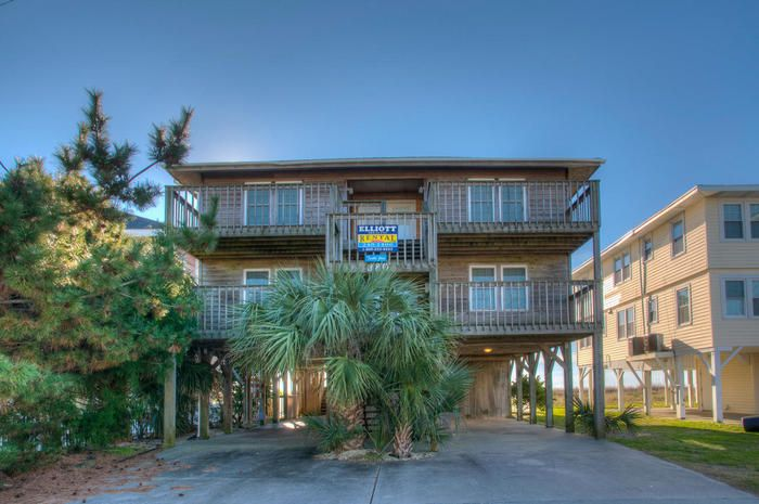 Turtle Joes is an Oceanfront Beach House Rental in the Cherry Grove Section of North Myrtle Beach, SC.  Elliott Beach Rentals has been specializing in professional management of beach homes and condos since 1959.