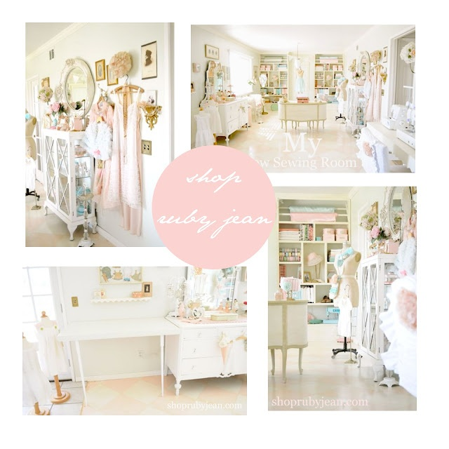 beautiful sewing room