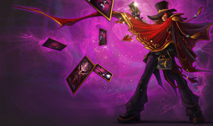 Magnificent Twisted Fate Skin