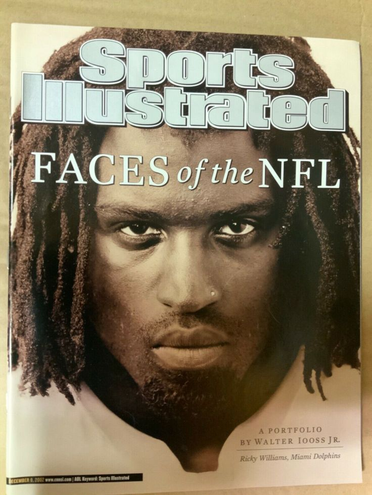 Ricky Williams Faces of the NFL Sports Illustrated