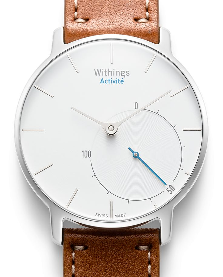 Withings Activité  - a new wearable health tracker that has the appearance of a normal analog watch but you can receive SMS and much more information through the sensors through the app.  It even tracks your swimming which is great for me.