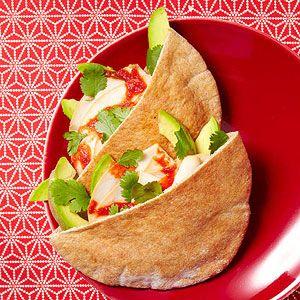 If you're tired of turkey sandwiches...: Healthy Lunch, Lunches, Turkey Sandwiches, Lunch Recipes, Turkey Pita, Pita Pocket, Avocado Pitas