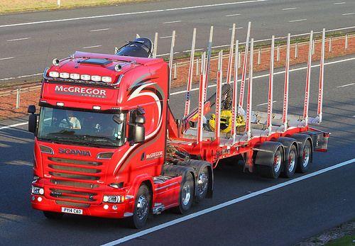 Scania R580 streamline PY14 CAO - McGregor Logging   Flickr