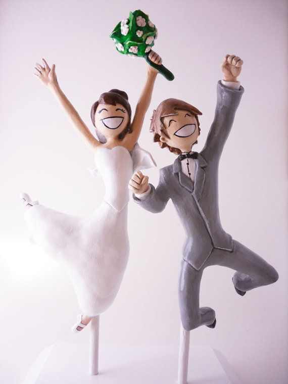 unique and adorable personalized cake topper option.