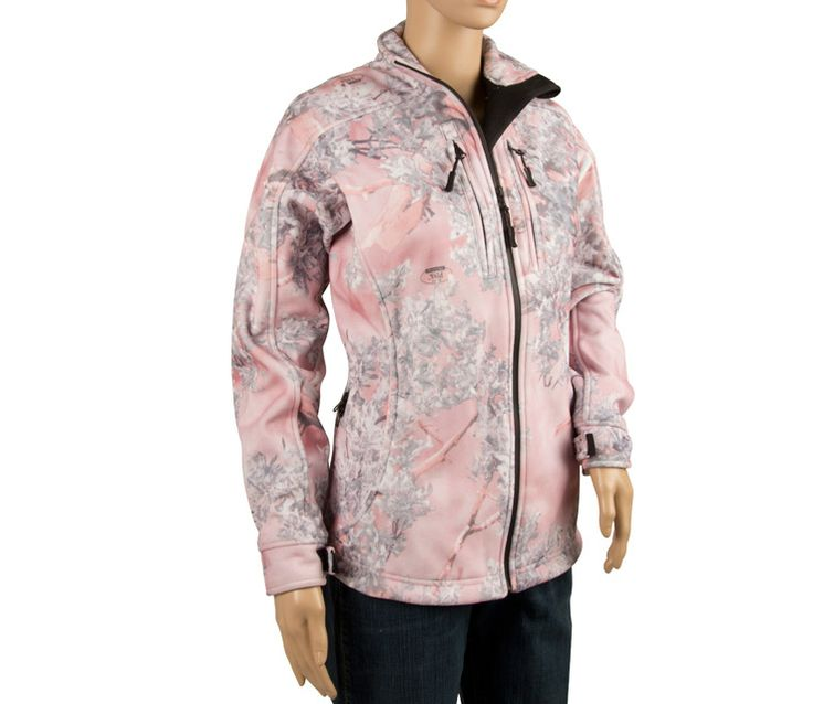 womans pink camo | Guides Choice Women's Fleece Pink Camo Jacket