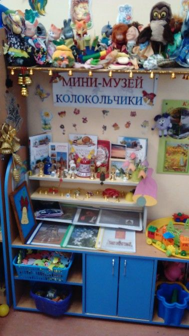 Мини-музей «Колокольчики» - Для воспитателей детских садов - Маам.ру