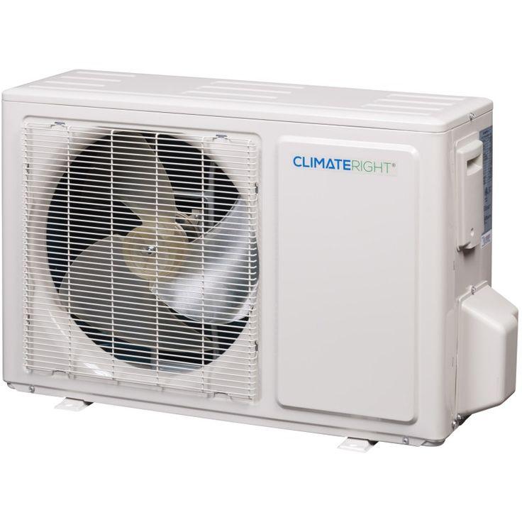 Climateright cr12000sach 12000 btu ductless minisplit
