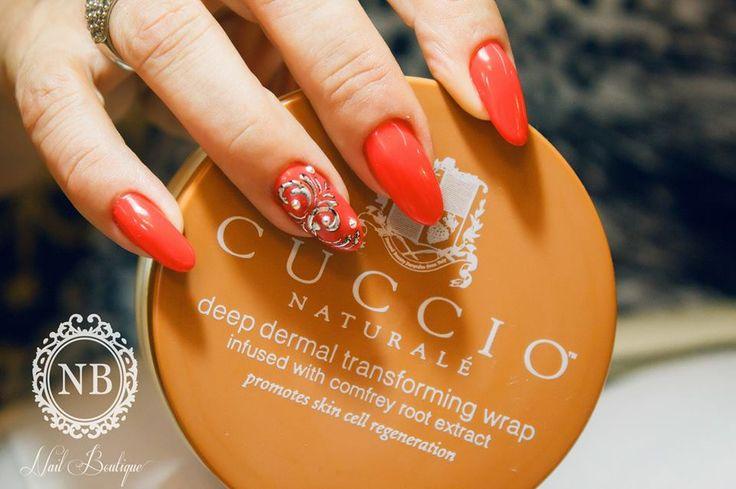 Red & Cuccio cream