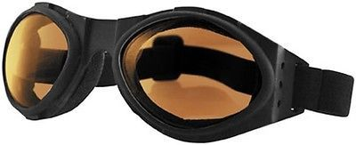 2014 Bobster Bugeye Motorcycle Street Amber Glasses Adult Goggles