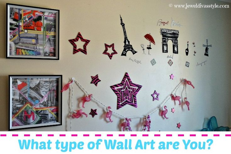 JDS - What Type of Wall art are You? - http://jeweldivasstyle.com/home-decor-style-what-type-of-wall-art-are-you/