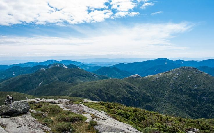 At 5,343 feet, Mount Marcy is the highest point in New York State. Hikes to the summit are not easy, but can be done in a day.This immense Adirondack peak is in the town of Keene, south of Lake Placid.