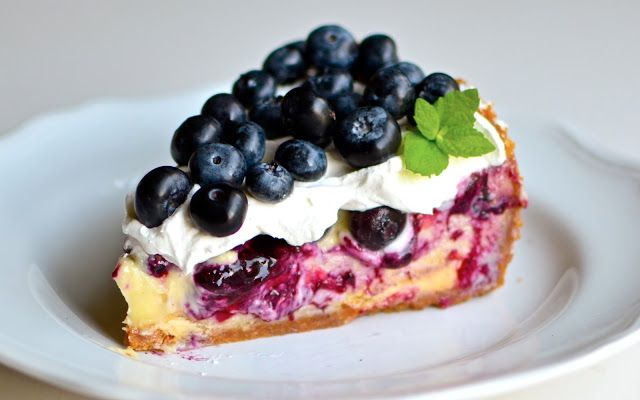 White Chocolate Blueberry Cheesecake @Yammie