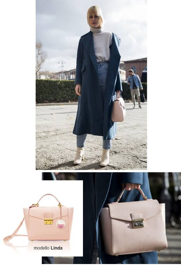 Linda Toll for @POMIKAKI SS16 LINDA PINK BAG