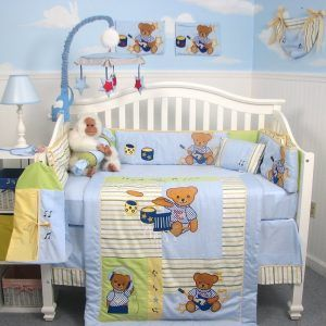 Teddy Bear Crib Bedding Sets
