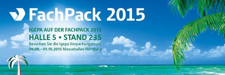 PrintScreenMedia besucht die Fachpack in Nürnberg vom 29.09. - 01.10.2015.  Auf Recherche nach Digital Signage Branchenlösungen für Messestände.