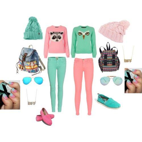 Best friend outfits | best friend outfits - Polyvore @Lauren Davison Grady