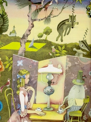 "Alice in Wonderland    Фолсом Ф. ""Книга о языке"". 1974"