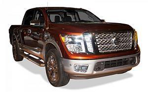 2017 Nissan Titan Platinum Reserve   #Nissan #Titan #truck #trucks #pickup #sale
