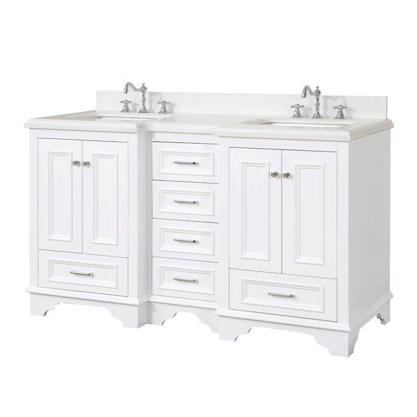 This Bathroom Vanity Set Includes A Cabinet With Soft Close