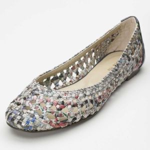 recycled newspaper shoes