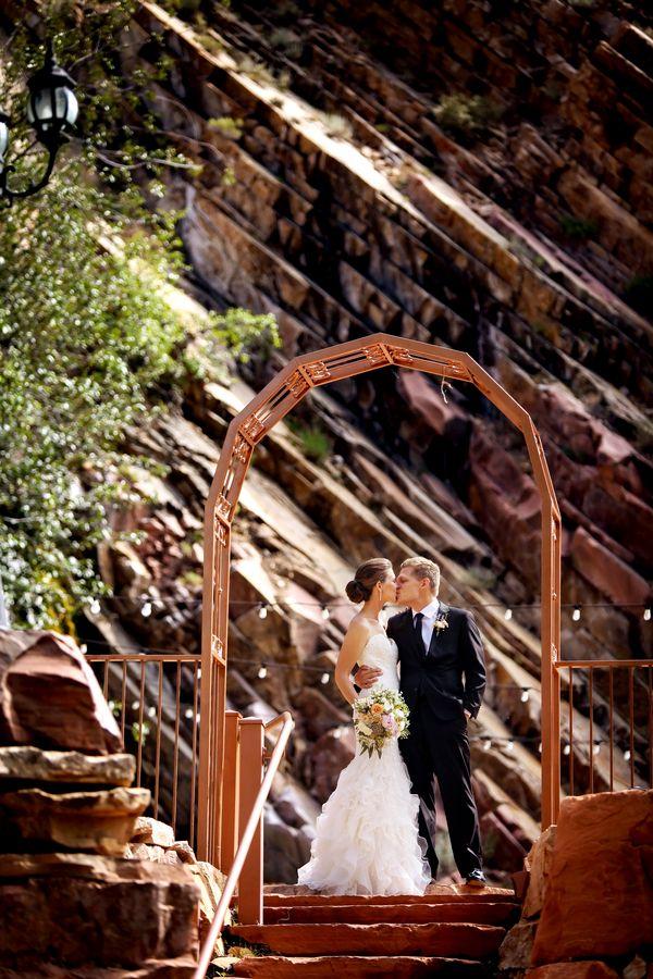 salt lake city outdoor wedding venue louland falls logan walker photography