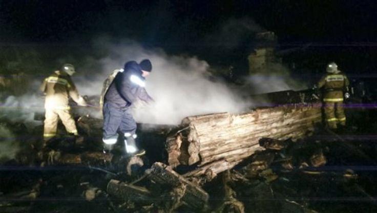 Cinco Niños Y Una Mujer Mueren En Incendio En Rusia