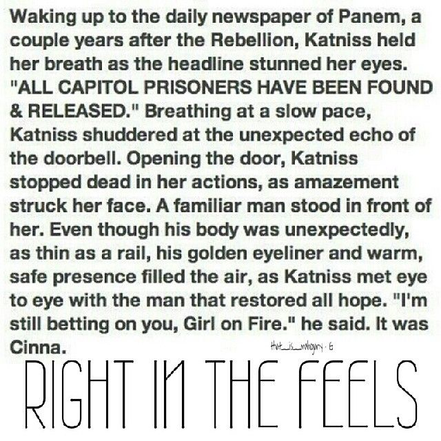 Can this be true (maybe all of the tributes in 74th THG were revived and put into jail and released O_o)
