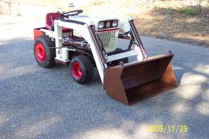 Brian's Bolens garden tractor loader project_2