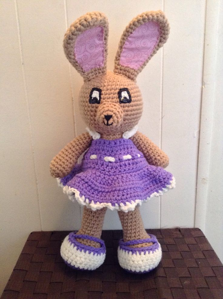 A personal favorite from my Etsy shop https://www.etsy.com/ca/listing/516142137/buttercup-the-bunny
