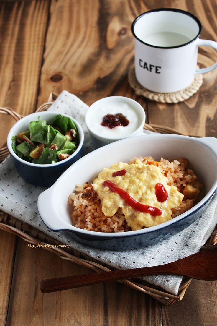 炊飯器で簡単チキンライス&レンジでとろふわオムライス。 by タラゴン (奥津純子) | レシピサイト「Nadia | ナディア」プロの料理を無料で検索